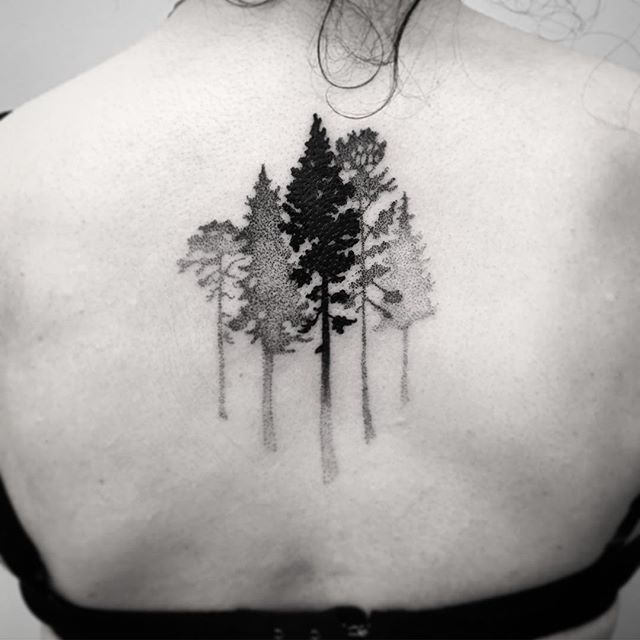 42 best images about tattoos on pinterest for Evergreen tree tattoo