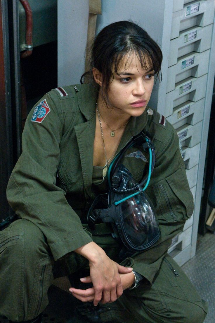 Michelle Rodriguez as Trudy Chacon in 'Avatar' (2009) - #MichelleRodriguez #Avatar
