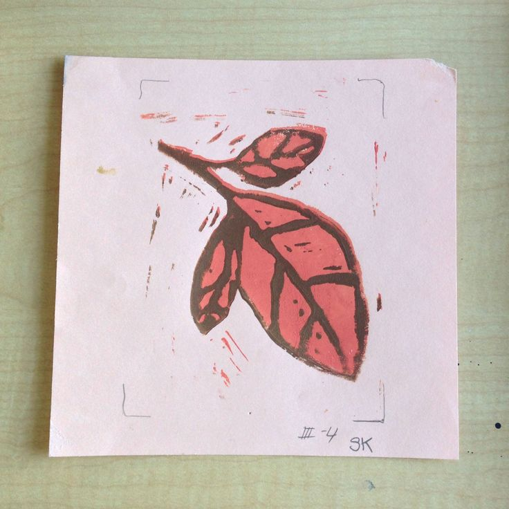 Print Example: 1000+ Images About Reduction Block Printing On Pinterest