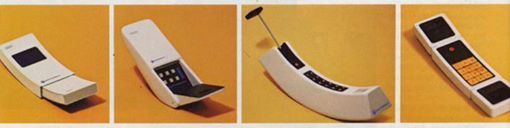 Beautiful prototypes developed by Motorola in 70s.  This research led to the release of the first truly portable commercial phone in history - the iconic Motorola DynaTAC 8000X, in 1983.  The price of this phone was $4000 ($9500 in present-day money) and it had half hour of battery life.