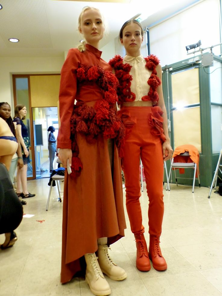 Moa Ao Zhang, pre-fall 2015 collection IFA Paris graduate fashion show 2014  http://www.queenafashionstyle.com/