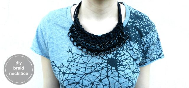 KAAM {hand-made}: diy braid necklace