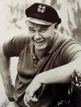 Alan Hale, Jr. (1921-1990)  US Coast Guard. The Skipper and so much more.