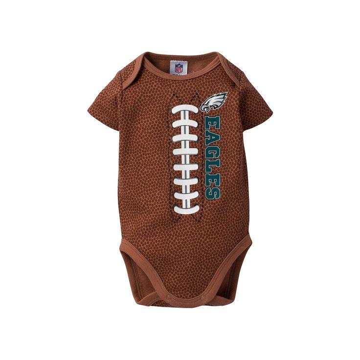 Baby Philadelphia Eagles Football Bodysuit, Infant Unisex, Size: 0-3 Months, Other Clrs