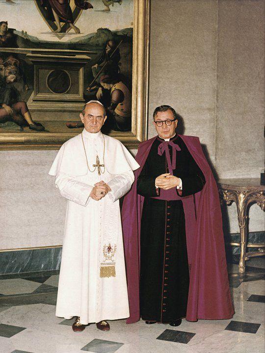 San Josemaría Escrivá de Balaguer y el Beato Paulo VI