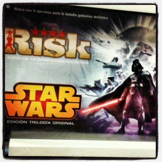 #Risk #StarWars trilogia original #originalTrilogy visita nuestro blog http://boardgamescave.wordpress.com