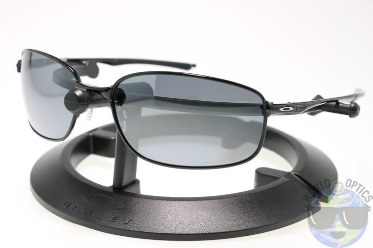 317eeee7130 Oakley Taper Sunglasses OO4074-04 Polished Black w  Black Iridium Polarized  Lens