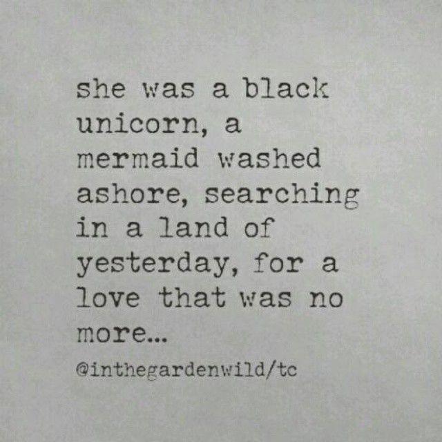 a black unicorn