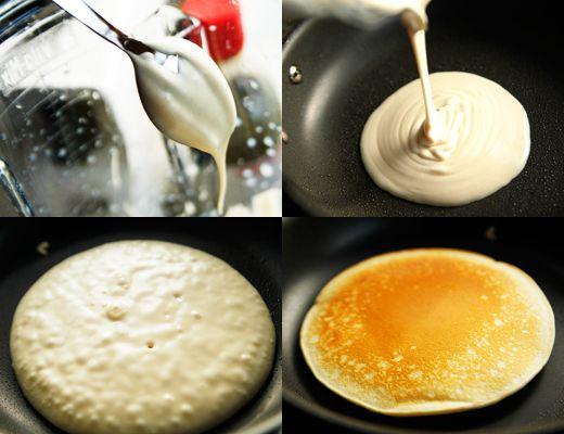 how to make crepes with pancake mix without milk