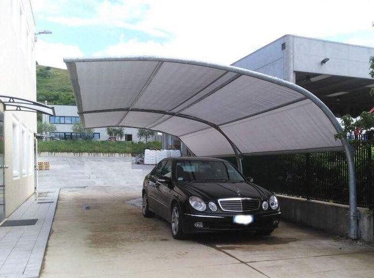 Pensilina ombreggiante tettoia auto - camper - moto