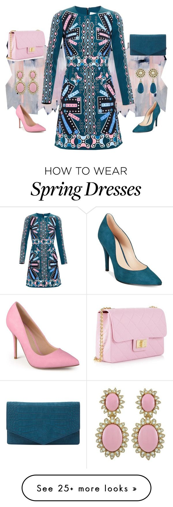 """""""Untitled #153"""" by easy-dressing on Polyvore featuring Design Inverso, Peter Pilotto, Journee Collection, Emily Cho, Nine West and Ciner"""