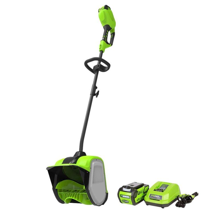 Digi-Pro Gmax 12 in. 40-Volt Cordless Electric Snow Blower Shovel - Battery and Charger Included