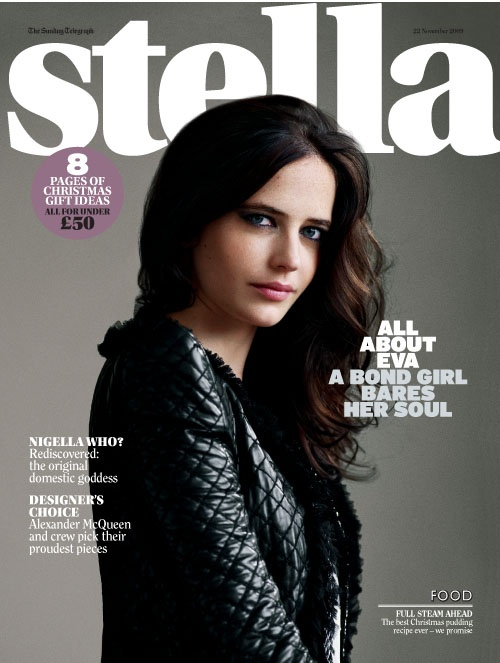 eva green on stella magazine one of my favourite
