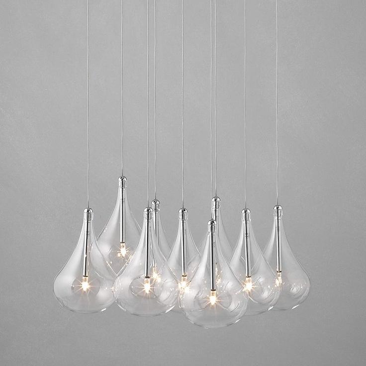John Lewis Jensen Dangle Cluster Ceiling Lights, x9 Lights