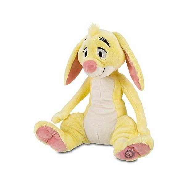 "DISNEY WINNIE THE POOH 16"" RABBIT STUFFED PLUSH BRAND NEW DOLL ❤ liked on Polyvore featuring baby and stuffed animal"