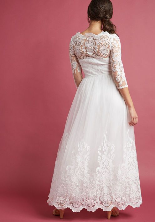 f7310f013 Chi Chi London Sophisticated Ceremony Maxi Dress in White