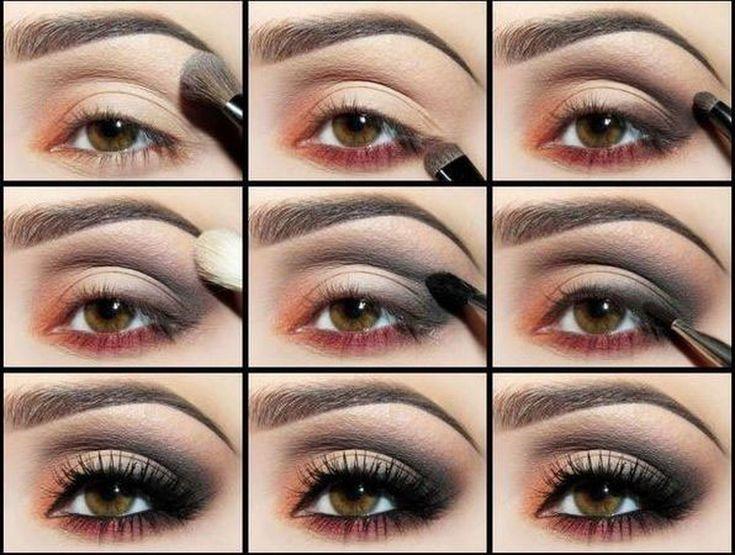 Макияж для карих глаз: дневной и вечерний