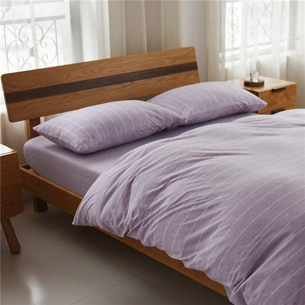 Various Designs, Small MOQ, Good Price, Factory Direct, Quick Respond.Cotton  Jersey Knit Plain Dyed Duvet Cover Set Bed Sheet Set ...