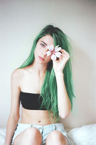 green: Greenhair, Color Hair, Haircolor, Long Hair, Green Hair, Colorhair, Pastel Hair, Hair Color, Green Goddess