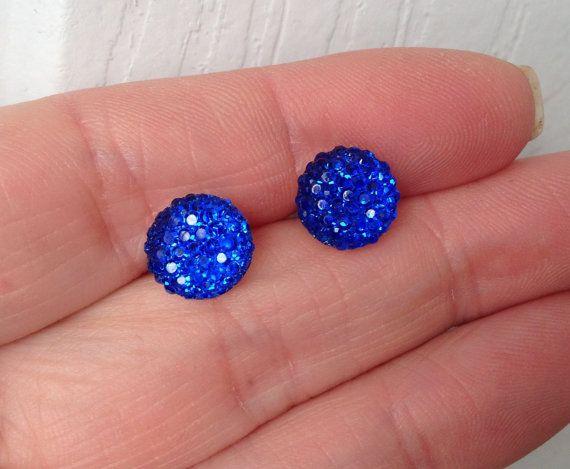 Cobalt Blue Bridesmaid Wedding Jewelry by CherishedJewelryCo, $12.00