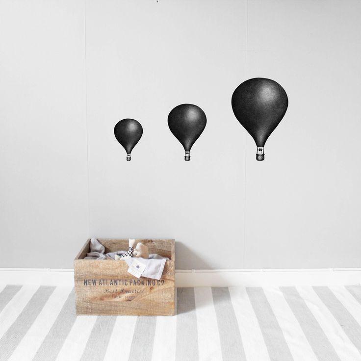 Nearly Black Balloons