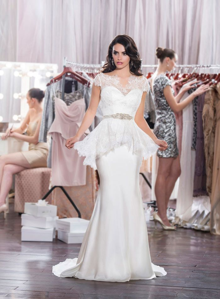 Diamond Collection Wedding dresses by Roz la Kelin #wedding #dress