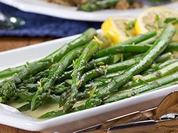 Between the freshness of the lemon, the snap of the asparagus, and the richness from the butter, it's hard to say what you'll love best about our Lemon Chive Asparagus. This healthy and elegant side dish is a must-make - especially in the spring!