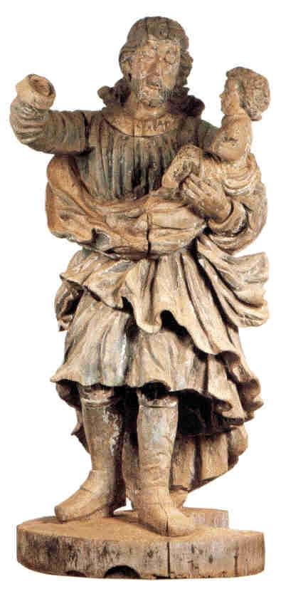 Arte Barroca. Museu das Ruinas de São Miguel das Missões. RS - Brasil