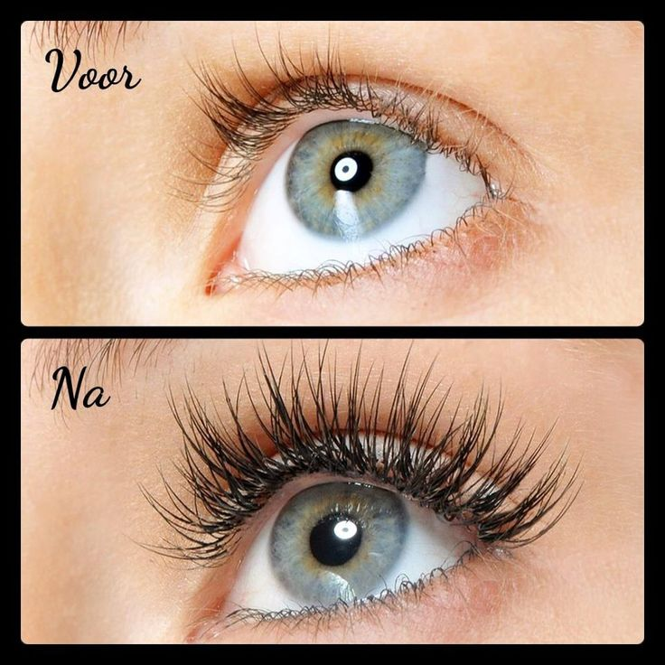 Lash extensions / before and after (www.wimperextensionsnederland.nl)
