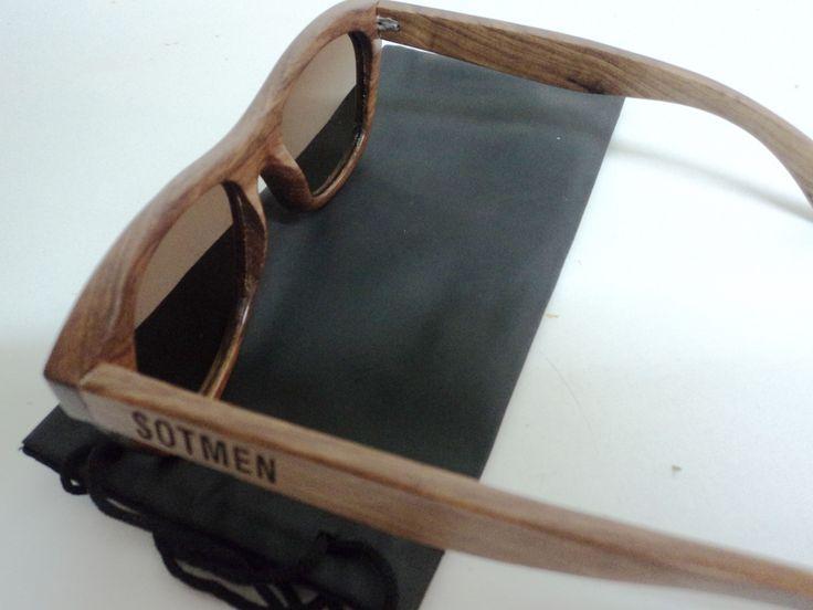 SOTMEN la nueva marca de lentes de sol completamente de madera!  -Lentes de sol 100% de madera -Impermeables -Filtro UV400  valor: $40.000