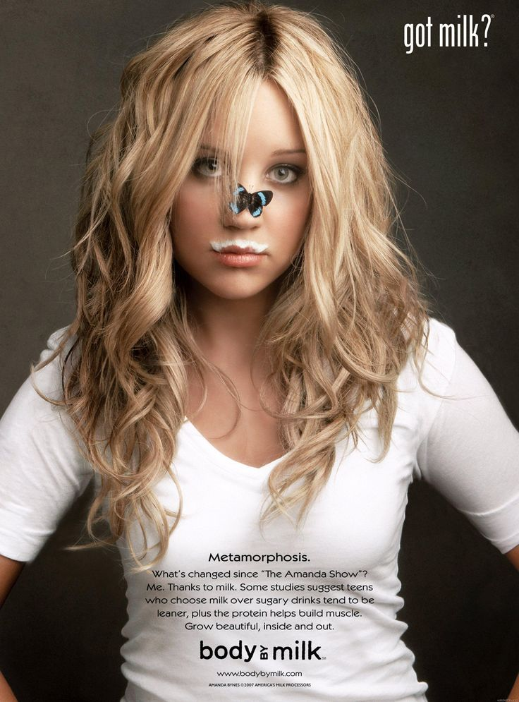 Got Milk Ads | Amanda Bynes
