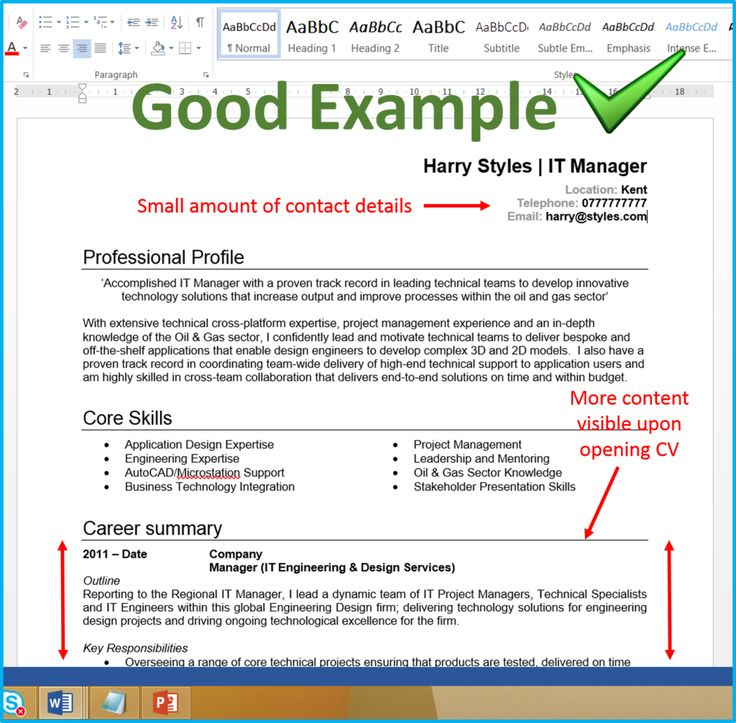 sample of some cv Yahoo Image Search Results Resume