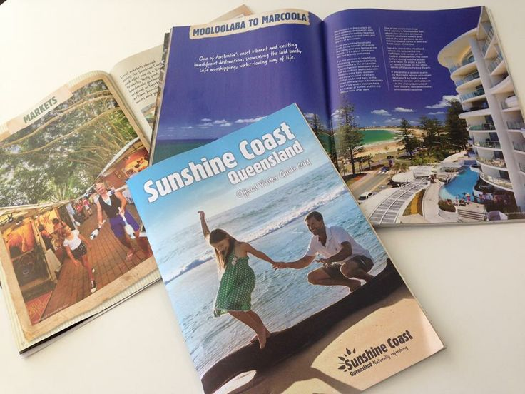 The Naturally Refreshing 2014 Sunshine Coast Official Visitors Guide. A beautiful publication showcasing the best of the Sunshine Coast