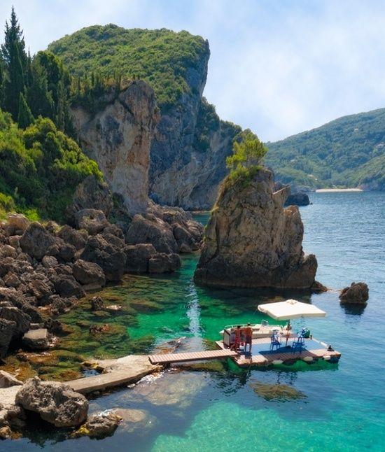 Corfu, Greece  #treasuredtravel