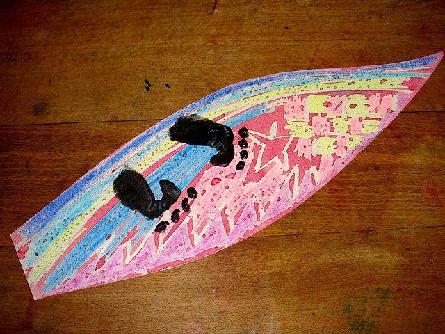 Best 25 surfboard craft ideas on pinterest teen beach for Surfboard craft for kids