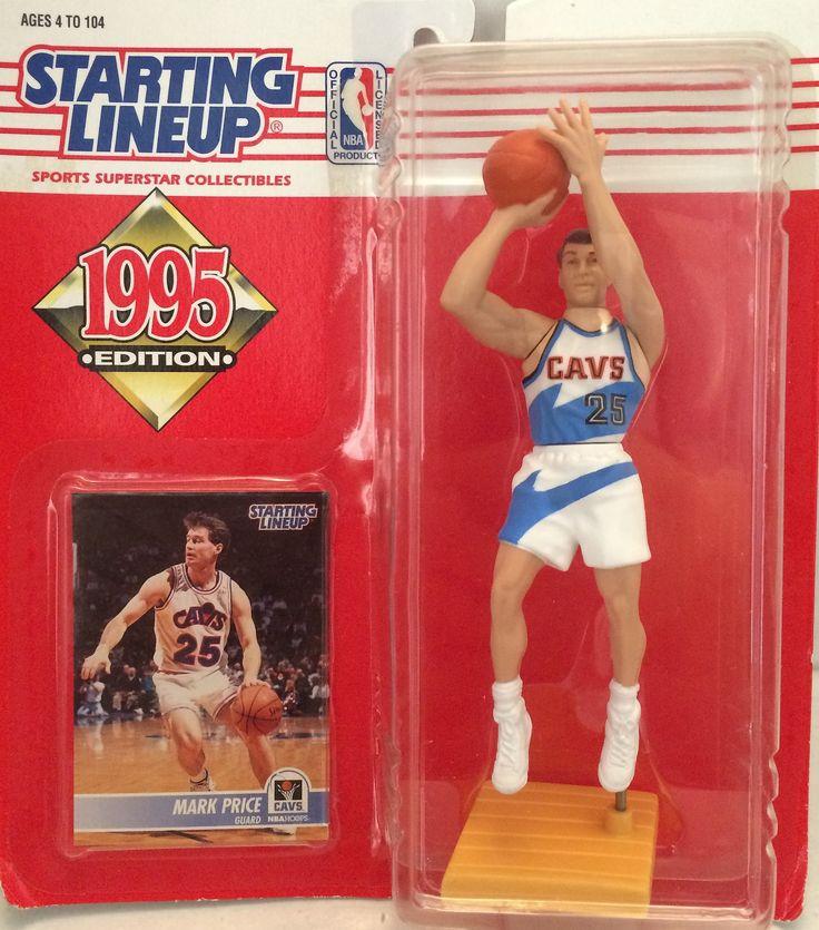 (TAS012351) - 1995 Kenner Starting Lineup NBA Mark Price - Cavs