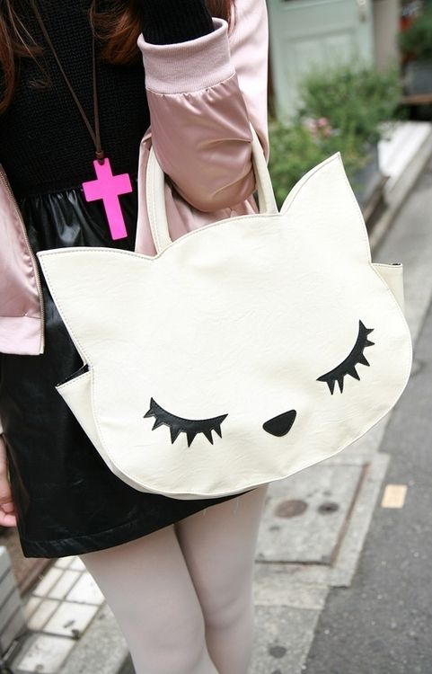 kitty pur-se