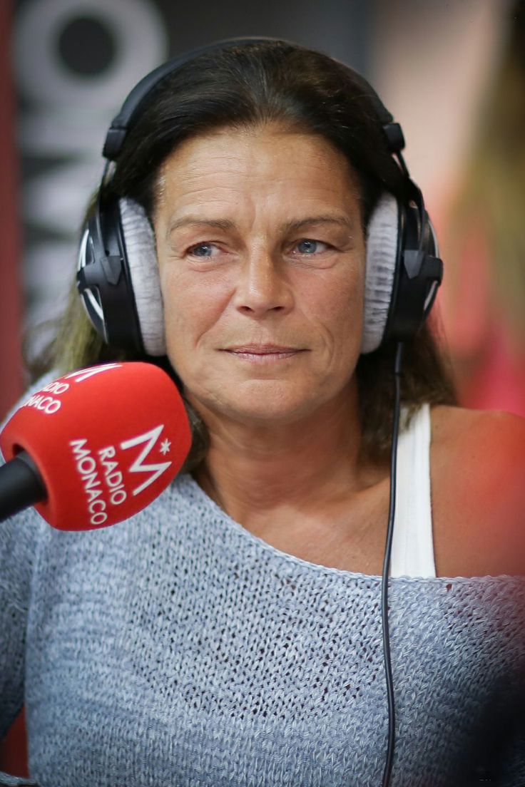 Princess Stephanie of Monaco at a special edition of Jungle Fight devoted to HIV and broadcast on Radio Monte Carlo, as it celebrated its 5 years of existence at the Lycée hotelier of Monaco and technical on 08.05.2014