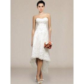 Short lace wedding dresses australia
