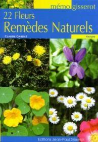 photo Livre: 22 fleurs remèdes naturels