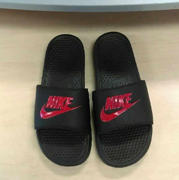 Nike Slippers Size 10 For Men Nice new condition Nike sandals for men. Nike Shoes Slippers