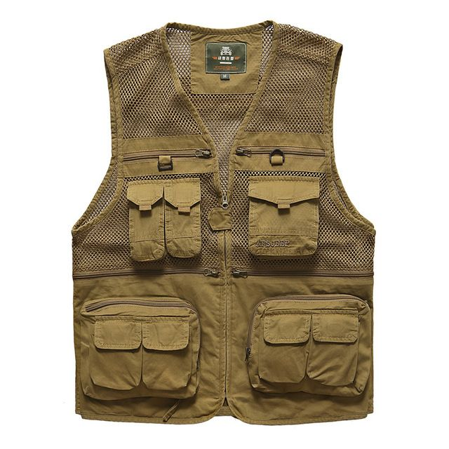 Buy now Vest men chaleco hombre casual Fashion photography waistcoat brand-clothing AFS JEEP multi pockets mens vest jacket 871 just only $29.43 with free shipping worldwide  #jacketscoatsformen Plese click on picture to see our special price for you