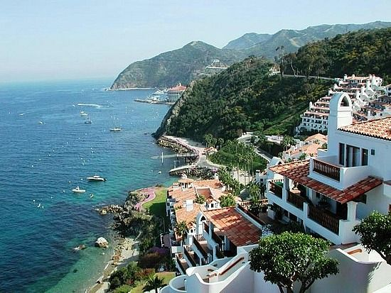 Hamilton Cove - Catalina Island, CA This is an awesome place to visit..its a mere 3 or so hours from where I live