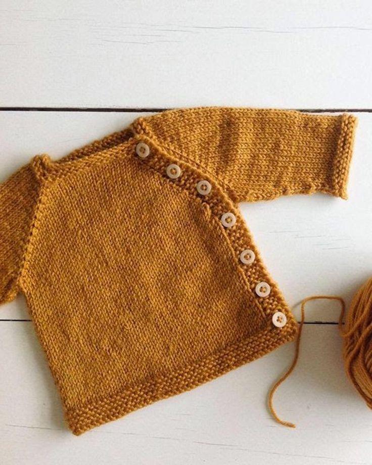 Patrons de tricot bébé : nos modèles préférés