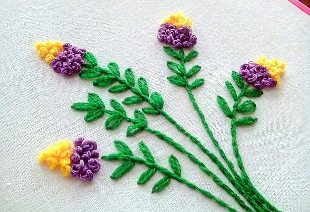 Floral Hand Embroidery Design | Impeccable Hand Embroidery Designs | Sewing Tips, Ideas, And Guide