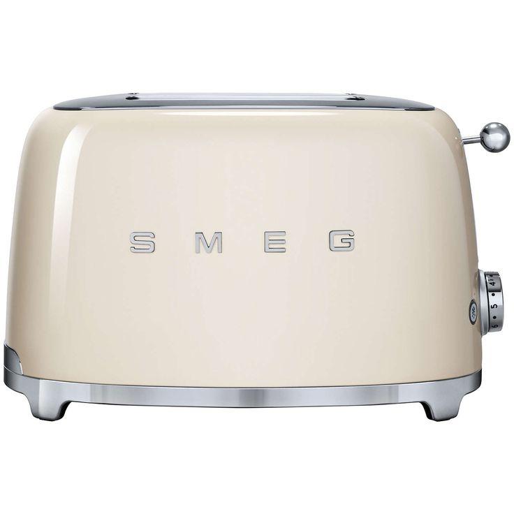 Money towards a 2 slice cream smeg toaster or cream kettle