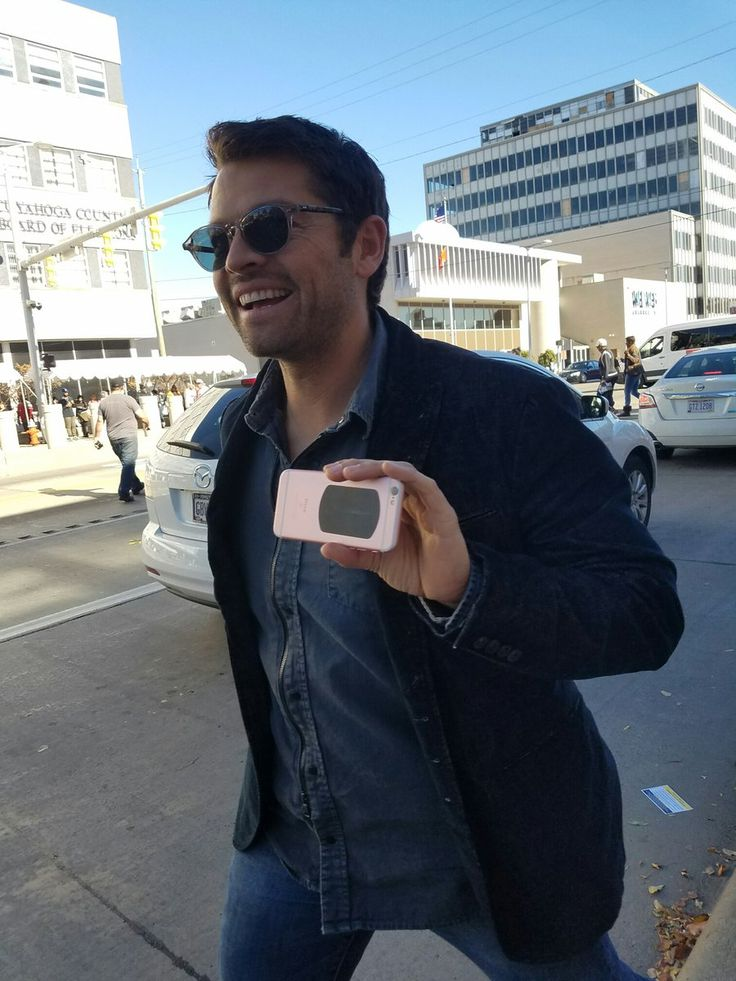 Krissy @vichan   Thanks for stopping by Cleveland, @mishacollins! Check it out for real someday soon, k?