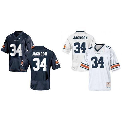 sale retailer cf047 fa5bf Auburn Tigers Bo Jackson #34 Football Jersey | Dthvllytgr ...