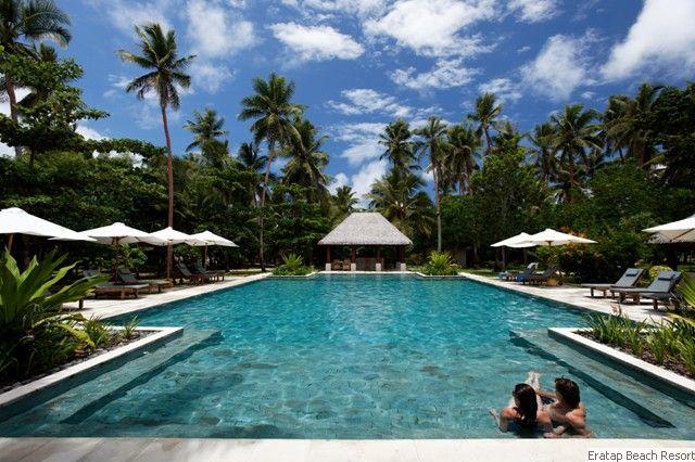 The perfect pool in Vanuatu