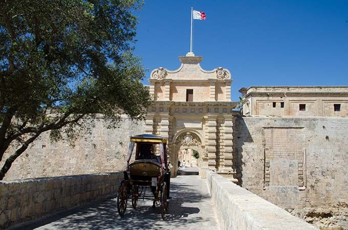 © Mario Galea / Viewingmalta.com  The 4000 year-old capital of Malta, Mdina is a medieval walled town on a hill in the centre of the island. It is commonly called the Silent City.